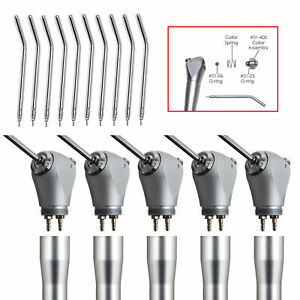 5pc Us Stock Dental Air Water Spray Triple 3 Way Syringe Handpiece Nozzles Tip