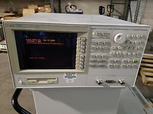 Hp Agilent 4291b Rf Impedance material Analyzer Opt 001