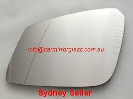 Left Passenger Mirror Glass Bmw 114 116 118 120 125 135 140 F20 2011 On 4 Pin