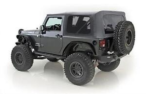 Smittybilt Soft Top For Jeep Wrangler Jk 2007 09 2 Dr Replacement Black 9070235