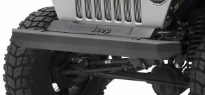Src Front Bumper Black Textured For Jeep Cj Wrangler Yj Tj 76 06 Smittybilt