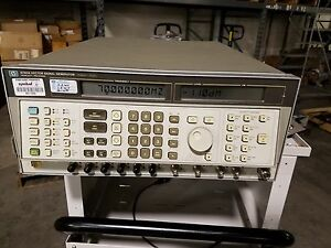 Hp 8780a 10mhz 3ghz Rf Vector Signal Generator