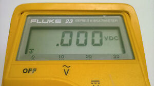 Fluke 23 Series Ii Display Repair Kit And Step By Step Photo Instructions