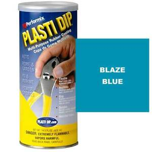 Performix 11619 Plasti Dip 14 5 Oz Dip Can Full Case Of 6 Cans Blaze Blue