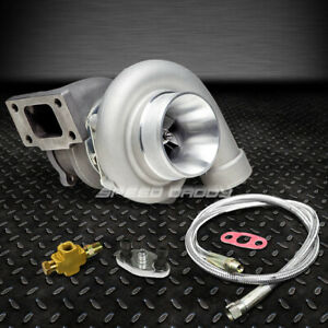 Gt35 Gt3582 Gt3540 T3 Ar 70 Float Bearing 500 hps Turbo Charger 36 oil Feed Line