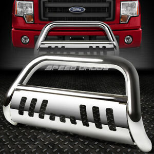 For 08 10 Ford F250 F550 Superduty Truck Chrome Bull Bar Push Bumper Grill Guard
