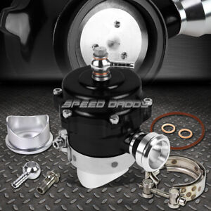 50mm Aluminum Black Turbocharger Blow Off Valve Bov Trumpet 35psi Boost Flange