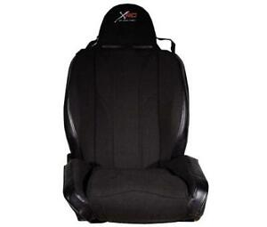 Xrc Driver Front Racing Seat Black For Jeep Cj Wrangler Yj Tj Jk 76 18 750215