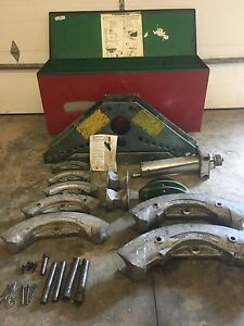 Greenlee 885 884 Hydraulic Bender 1 25 5
