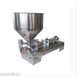 Pneumatic Filling Machine 5 100ml For Cream Shampoo Cosmeticing