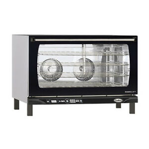 Cadco Xaft 195 Countertop Electric Convection Oven 4 Full Size Pan Capacity