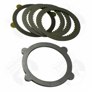 8 Inch And 9 Inch Ford 4 tab Clutch Kit With 9 Pieces Yukon Gear