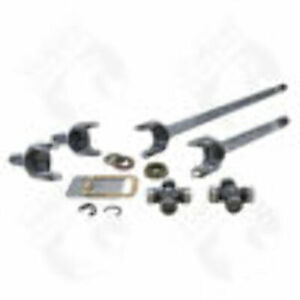 Yukon Front 4340 Chrome moly Replacement Axle Kit For 79 87 Gm 8 5 1 2 Ton Tr