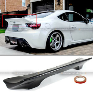 Fit 13 20 Frs Brz 86 Rocket Bunny Style Unpainted Pu Rear Trunk Lip Spoiler