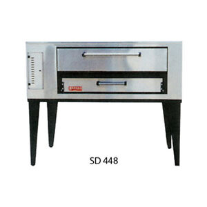 Marsal Sd 448 Gas Deck Type Pizza Oven