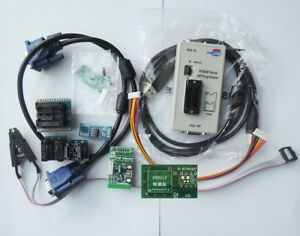Rt809f Serial Isp Programmer Tool For Pc Mainboard Lcd Controller With Adapters