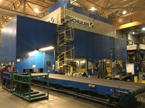 1 800 Ton Capacity Schuler Straight Side Presses For Sale 2 Available