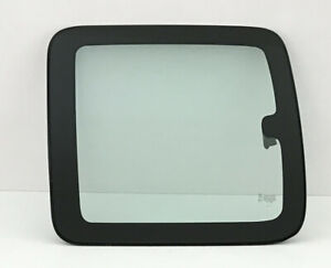 Fits 99 06 Gmc Sierra 2dr Extended Driver Left Side Quarter Glass Window Clear
