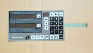 Membrane Keypad For Mitutoyo Ka Counter mitutoyo Optical Comparator Ph 3515f