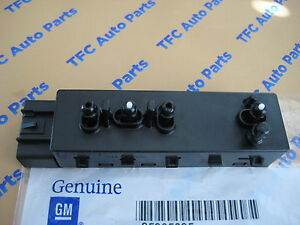 Chevrolet Gmc Cadillac Buick Lh Driver Seat 8 Way Power Adjuster Switch Oem New