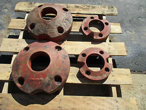 International Cub Tractor Original Wheel Weights