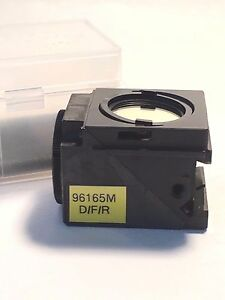 Nikon Fluorescence Filter Cube d f r Triple Set 96165m