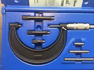 Micrometer Set 0 4 Central Tools 0 4 micrometer Set