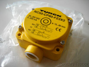 New Turck Capacitive Level Sensor 80mm Nonembeddable Nc50 cp80 fz3x2