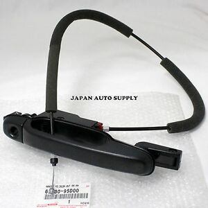 Toyota 91 97 Previa Genuine Rh Rear Door Outside Handle 69230 95d00 W Cable