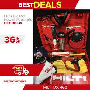 Hilti Dx 460 Power Actuated Mint Free Coffee Mug A Lot Of Extras Quick Ship