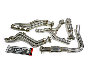 Obx High Flow Catted Long Tube Header 2004 2006 Dodge Ram 1500 5 7l Hemi 4wd