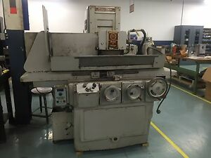 Brown Sharpe 1024 Micromaster Grinder 5hp 220 440v 3ph W mag Table Rectifier