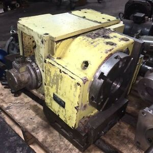 8 Nikken Cnc 200 bfa 4th Axis Rotary Table W Tilting Base Used Warranty