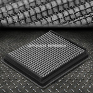 For 98 09 Ranger b series Silver Reusable washable High Flow Drop In Air Filter