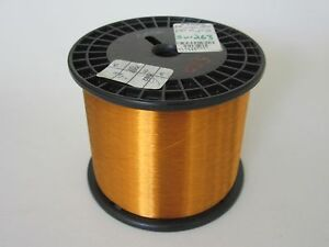 40 Awg 5 20 Lbs Essex Thermalex Heavy Enamel Coated Copper Magnet Wire