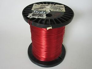 22 Awg 5 55 Lbs Heavy Enamel Coated Copper Magnet Wire