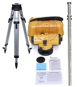 Topcon At b4 Automatic Level Surveying Sokkia Leica trimble transit Inch