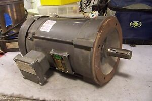 Baldor 3 Hp Electric Ac Motor 230 460 Vac 1725 Rpm 182tc Frame 3 Phase