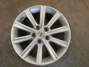 2012 2013 2014 Toyota Camry 17 10 Spoke Alloy Aluminum Wheel Rim 810 Lc