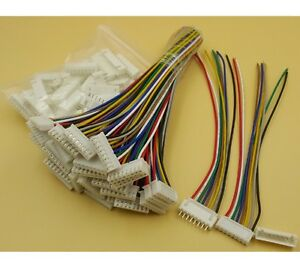 10sets Xh2 54 8pin 1007 24awg Single End 15cm Wire To Board Connector
