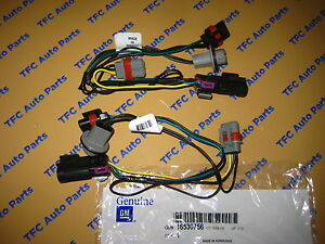 2 Pontiac Grand Prix Front Head Light Wiring Harness Oem New 2004 2008
