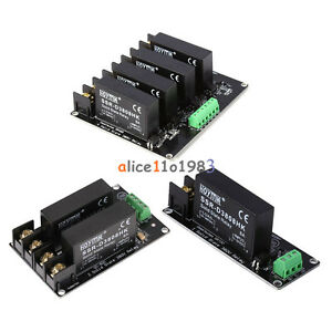 380v 8a 1 2 4 Channel Solid State Relay Board Ssr Switch Controller Arduino