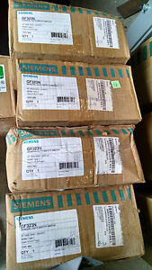 Siemens Gf323n 100amp 240v Fusible 4wire Disconnect Switch Nema 1 New