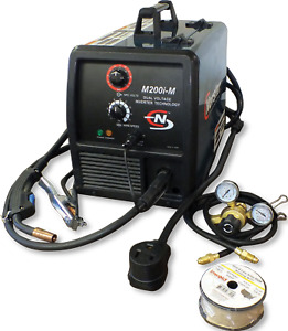 New Coplay norstar Dual Voltage Input Mig Welder Package M200 m 3 Year Warranty