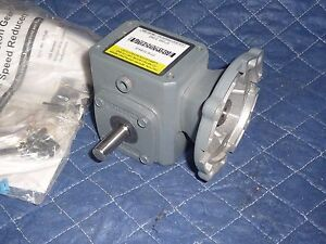 Boston Gear Gearbox Speed Reducer F710 10 b4 g 10 1 42cz Input New