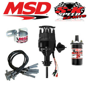 Msd 99113 Ignition Kit Ready To Run Distributor Wires Coil Chrysler Bb 426 440