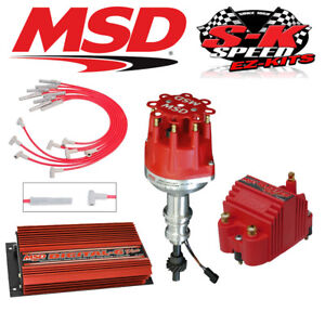 Msd 9520 Ignition Kit Digital 6 Plus Distributor Wires Coil Ford 302 Small Cap