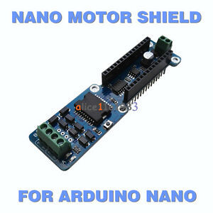 L298p 2a Dual Channel Dc Stepper Motor Driver Shield Module For Arduino Nano 3 0