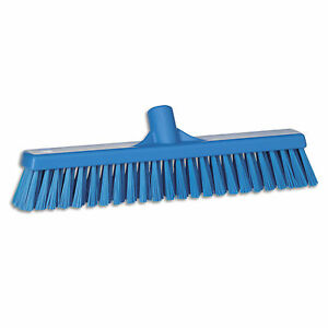 Ust Push Broom Soft hard Bristle 2 x16 Blue 1 Ea