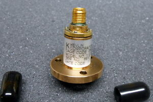 Sma Rotary Joint Coaxial 5 To 20 Ghz New Kelvin Cobham Model 1102